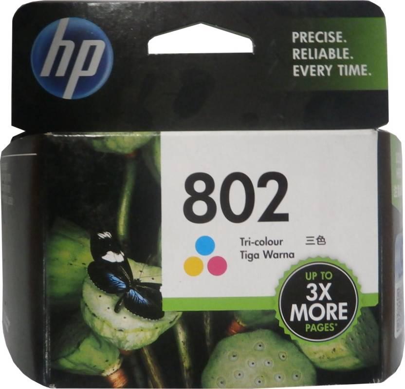 HP 802 Tricolor Ink Cartridge