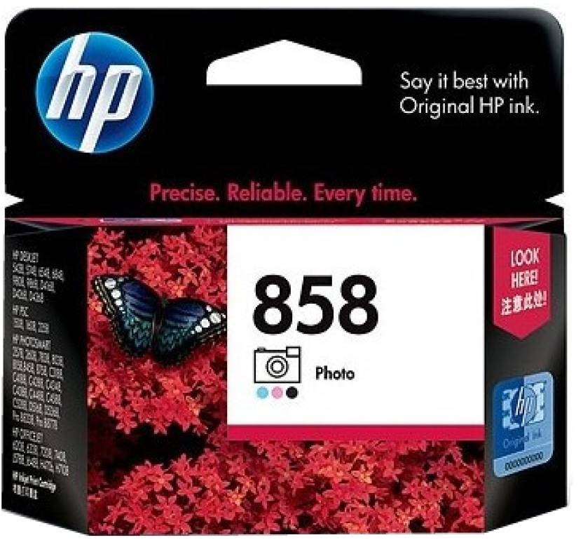 HP 858 Photo Print Cartridge