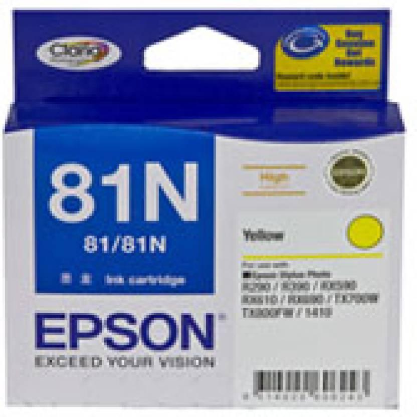 Epson 81N Yellow Ink cartridge C13T111490
