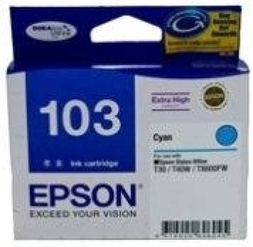 Epson 103 Cyan Ink cartridge C13T103290
