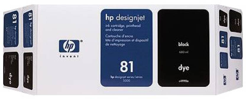 HP 81 Black Dye Value Pack 680 ml Ink Cartridge