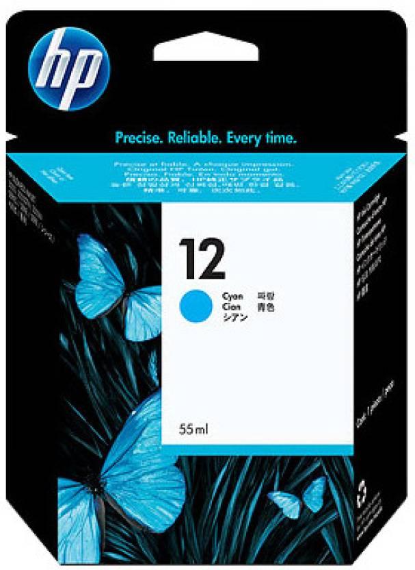 HP 12 Cyan Ink Cartridge