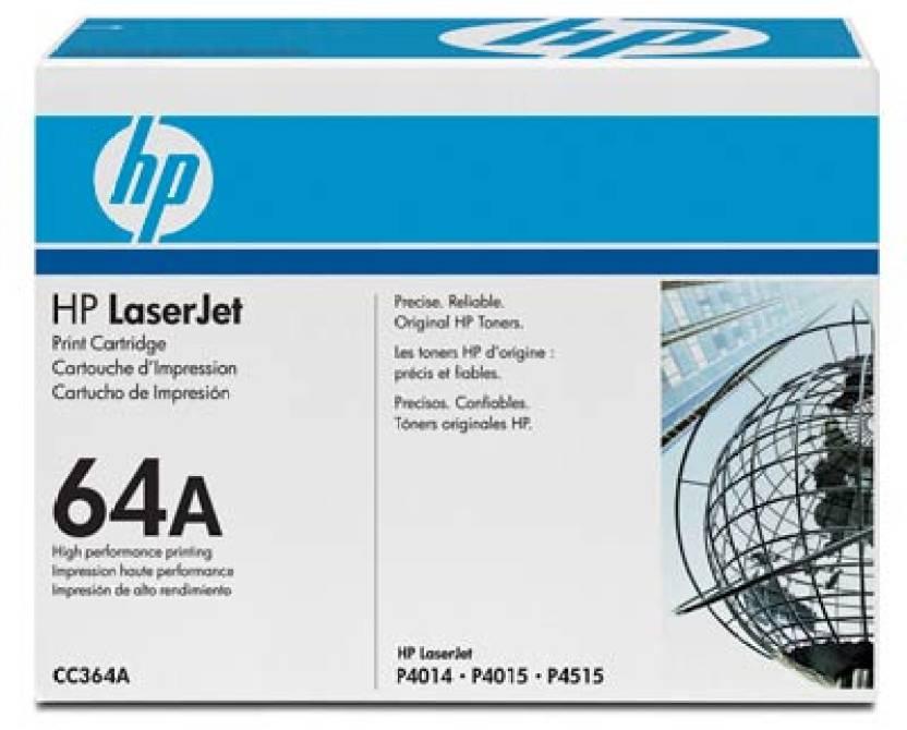 HP 64A Black LaserJet Toner Cartridge