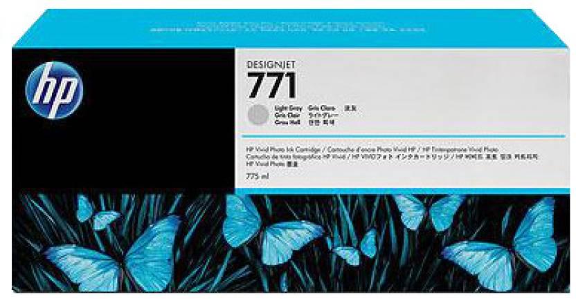 HP 771 3-pack Light Gray Designjet Ink Cartridges