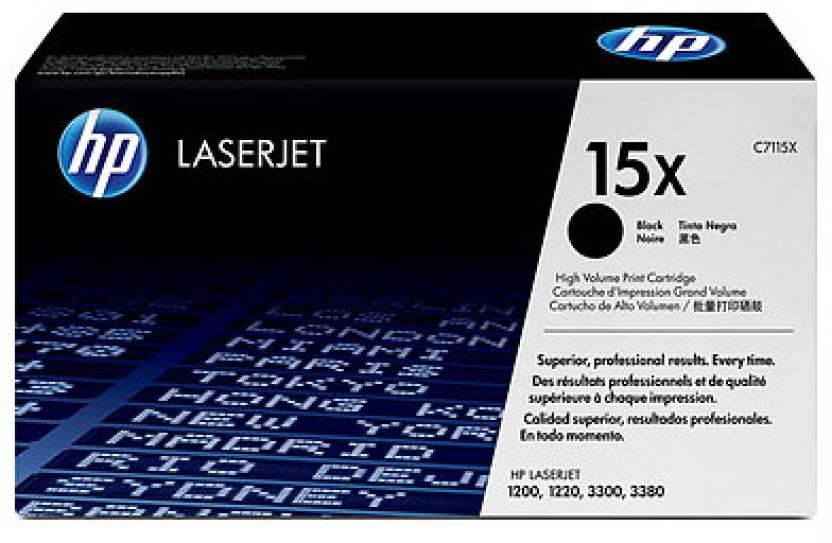 HP 15X Black LaserJet Toner Cartridge