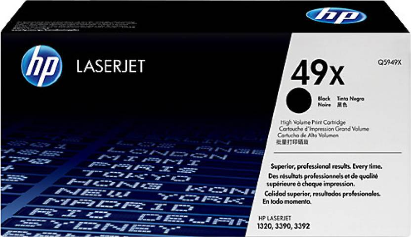 HP 49X Black High Capacity LaserJet Toner Cartridge