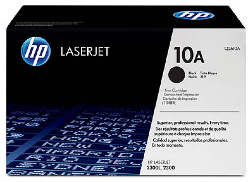 HP LaserJet Q2610A Black Print Cartridge