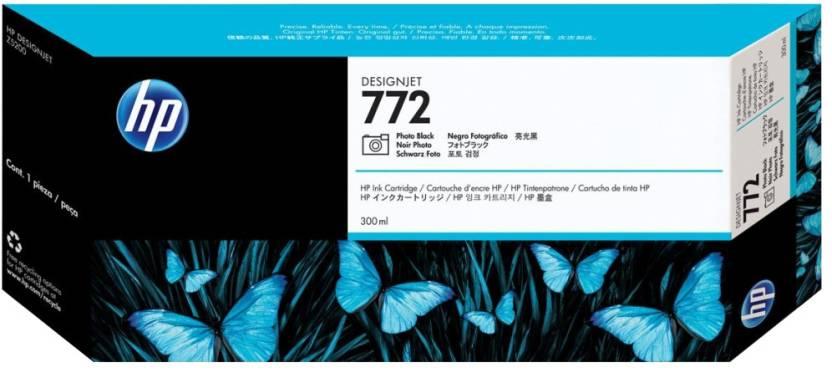 HP 772 300 ml Photo Black Designjet Ink Cartridge