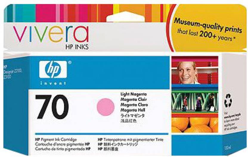 HP 70 Light Magenta Ink Cartridge