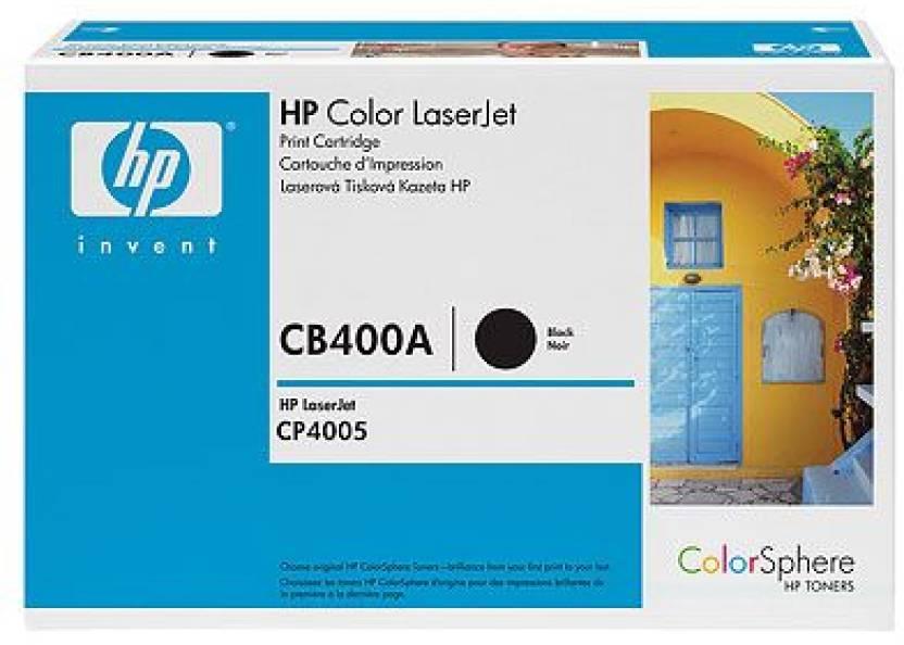HP Color LaserJet CB400A Black Print Cartridge