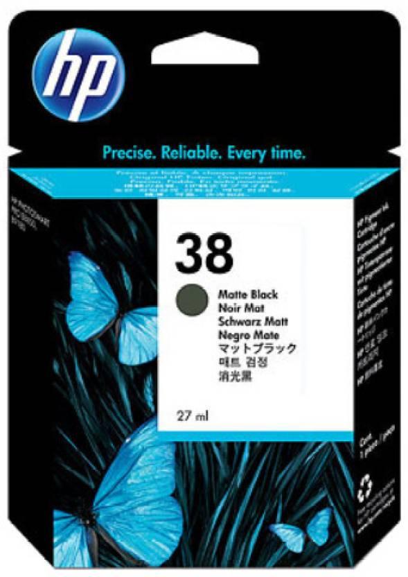 HP 38 Matte Black Ink Cartridge
