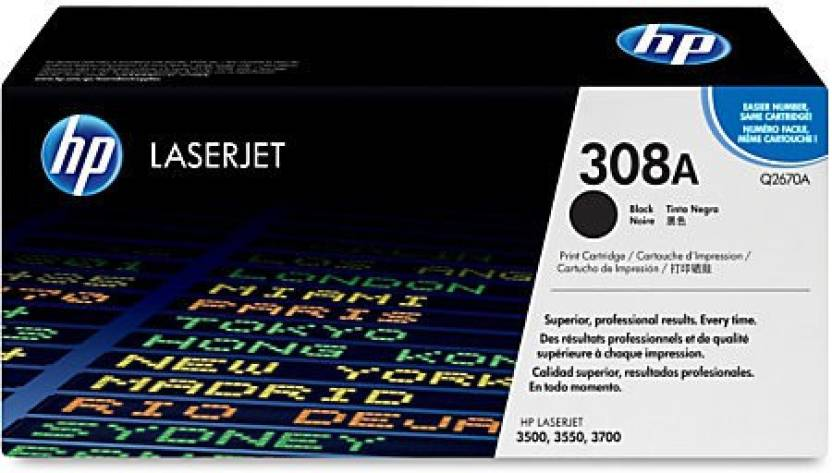 HP 308A Black Toner Cartridge