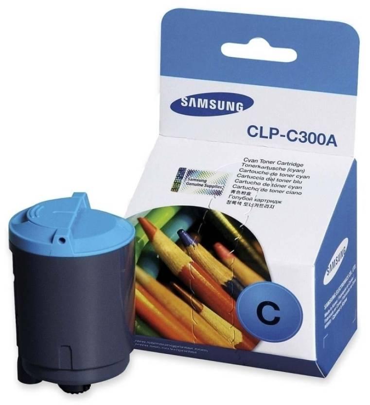 Samsung CLP C300A Cyan Toner Cartridge