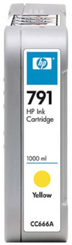 HP 791 1000-ml Yellow Ink Cartridge