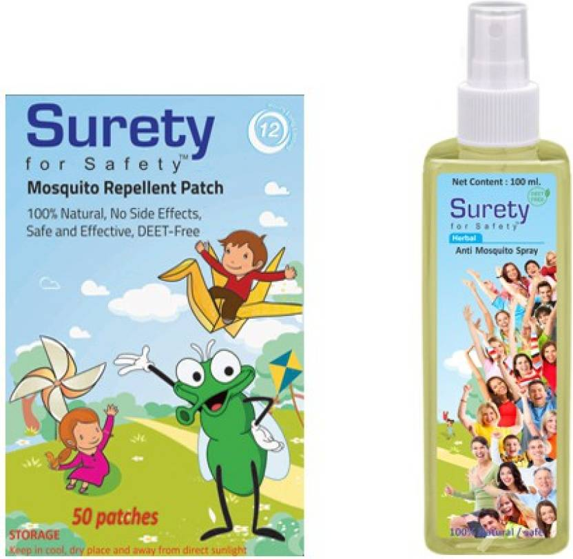 Surety For Safety Herbal Mosquito Patch 50 Herbal Anti Mosquito