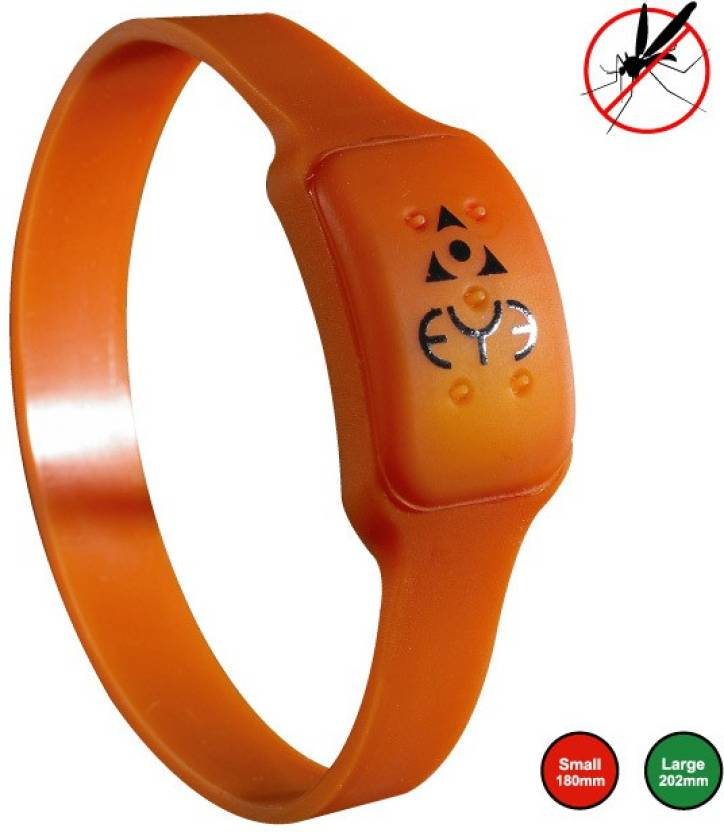 Wonder World ™ Anti Mosquito/Denge Adult Bug Wrist Band Repellent One Size Fit LED Glowing Wrist Bracelet