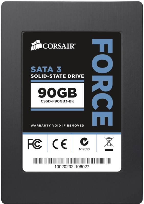 Corsair Force Series 3 90 GB Desktop, Laptop Internal Solid State Drive (CSSD-F90GB3-BK)