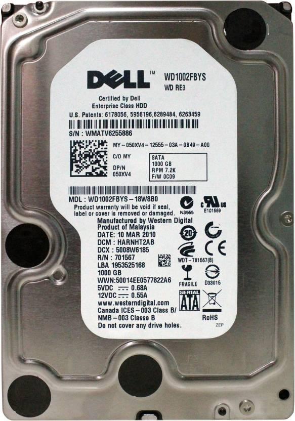 Dell WMATV6255886 1 TB Desktop Internal Hard Disk Drive (WD1002FBYS)