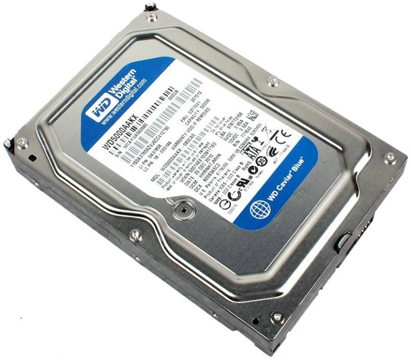 WD Caviar Blue 500 GB Desktop Internal Hard Disk Drive (WD5000AAKX)