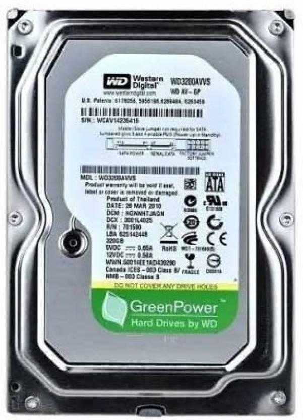Upto 61% Off On Laptop/Desktop Harddrives By Flipkart | WD Green Power 250 GB Desktop Internal Hard Drive (WD250AVVS) @ Rs.1,340