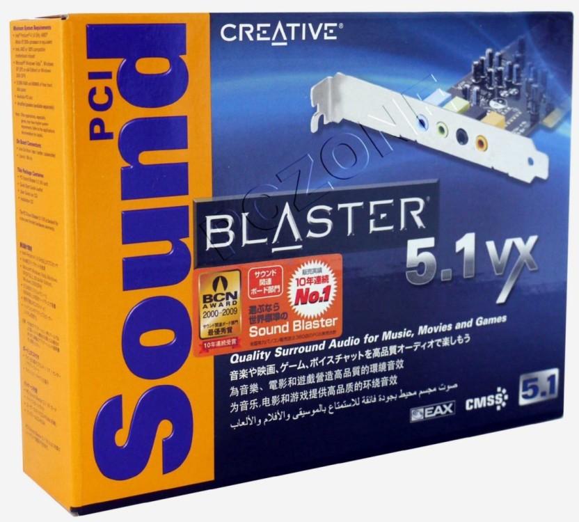 CREATIVE PCI SOUND BLASTER 5.1VX WINDOWS 8.1 DRIVER