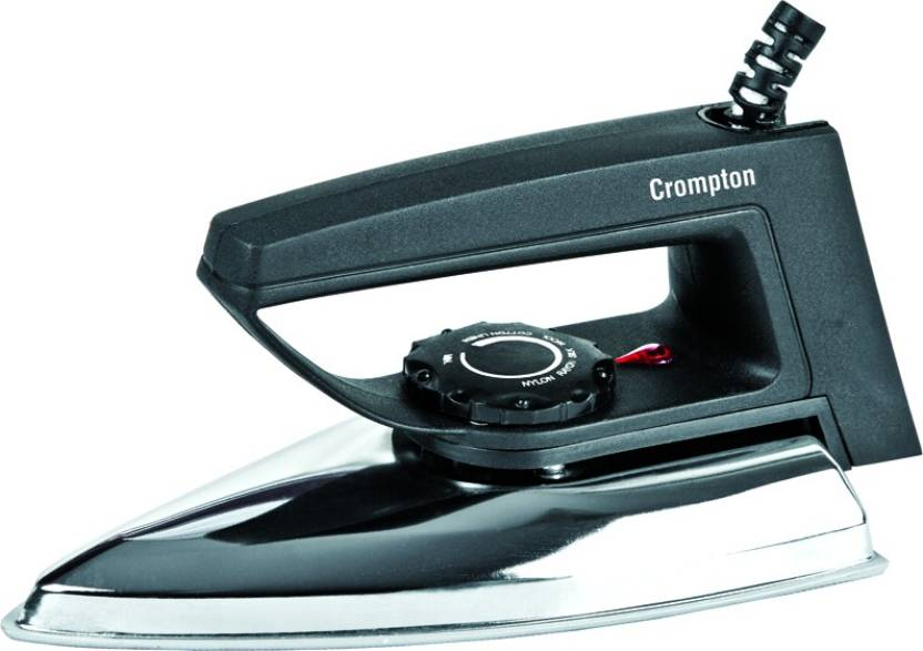 Upto 45% Off On Irons By Flipkart | Crompton RD Dry Iron  (Black) @ Rs.439