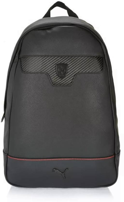 7c67cd0c5f85 Puma Ferrari LS Spark Unisex 21 L Backpack Black - Price in India ...
