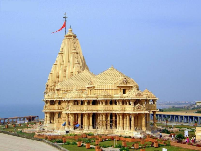 somnath temple poster paper print religious posters in india buy