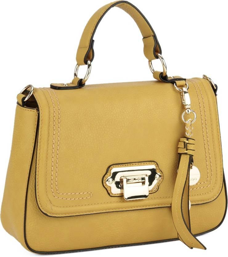 de49617d9d3 ALDO Women Casual PU Sling Bag Mustard W Lt Gold Hw - Price in India ...