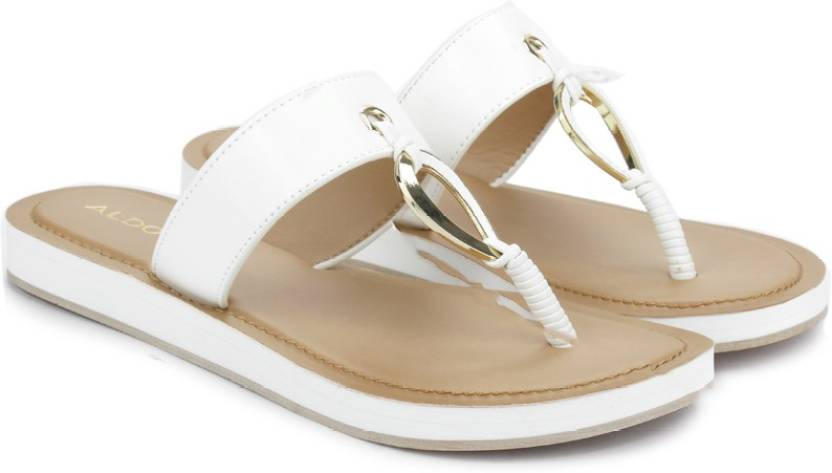 ccf1fd79788c ALDO Women White Flats - Buy White Color ALDO Women White Flats Online at  Best Price - Shop Online for Footwears in India