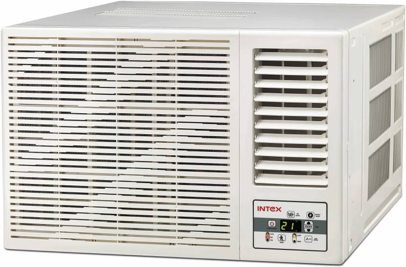 Intex 1.5 Ton 3 Star Window AC - White  (WA18CU3ED, Copper Condenser)