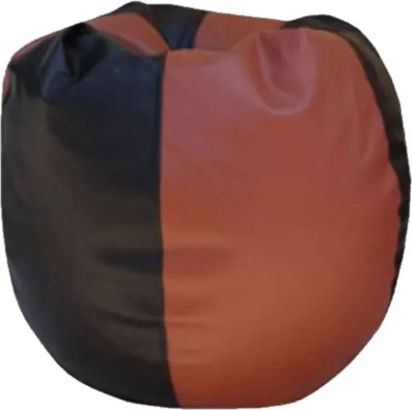 Kainaat Fashion Large Tear Drop Bean Bag Cover  Without Beans  Multicolor