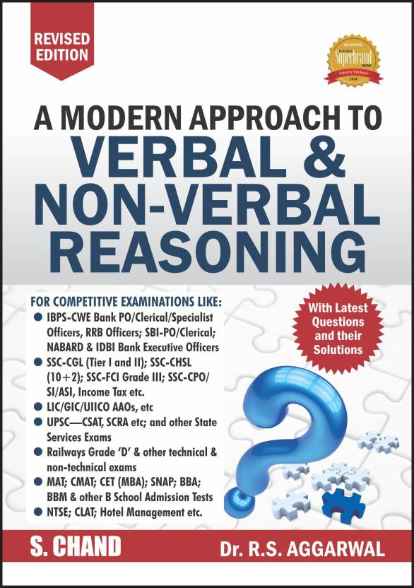 A Modern Approach to Verbal and Non-Verbal Reasoning