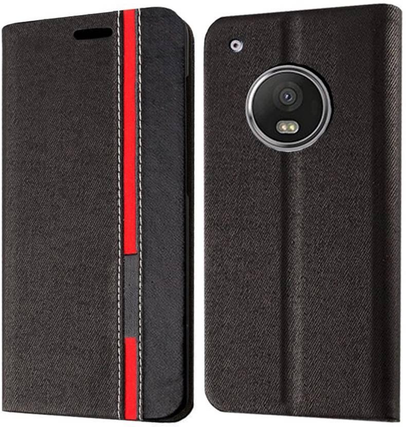 568bef79c64 Febelo Flip Cover for Motorola Moto G5 Plus - Febelo   Flipkart.com