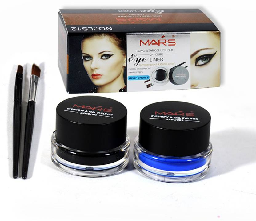 75595813cbb2 Mars Long Wear Eyebrow & Gel Eyeliner 3 g - Price in India, Buy Mars ...
