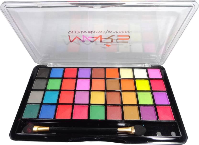 Mars Matte Eyeshadow Palette 30 G Price In India Buy Mars Matte