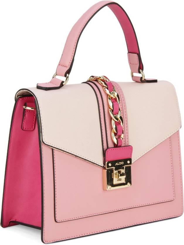 dc834d586ed ALDO Women Casual PU Sling Bag Light Pink / Pink / Fushia Combo w/ Lt Gold  hw - Price in India | Flipkart.com