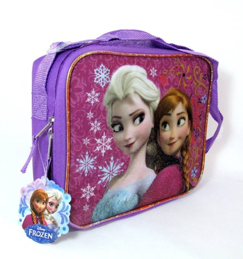 3c6c9b275eb Disney Frozen Princess Elsa And Anna Sister Love Lunch Box Bag Kit 1  Containers Lunch Box (500 ml)