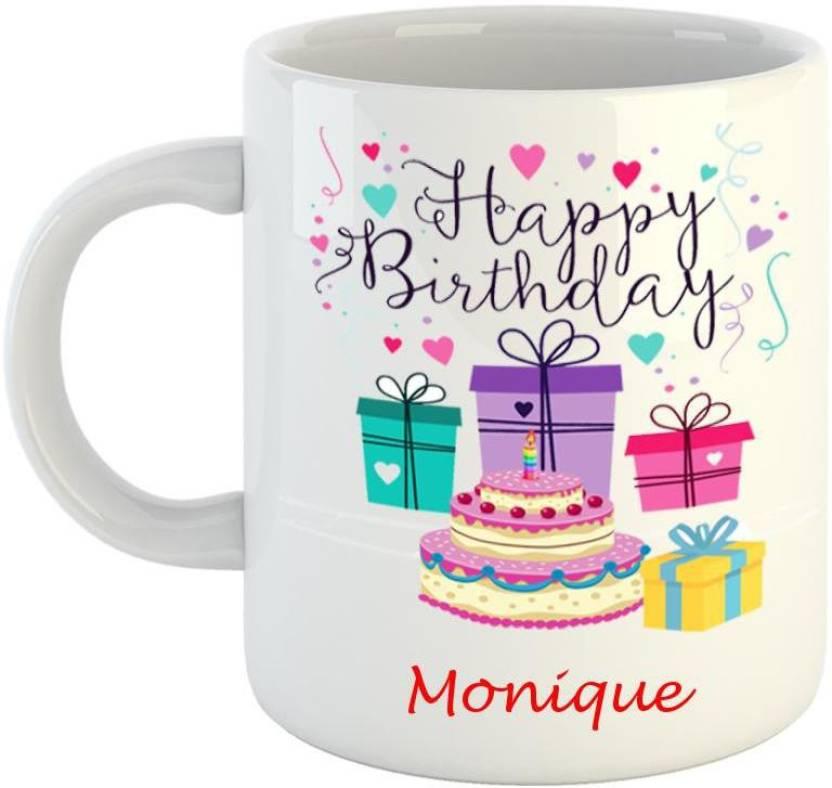 happy birthday monique Dream web Happy Birthday Monique Ceramic Mug Price in India   Buy  happy birthday monique