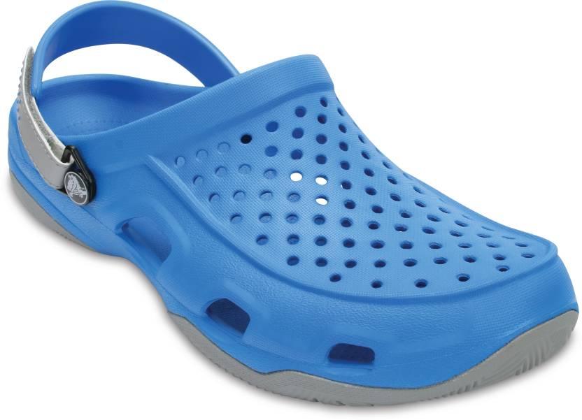 6458e41eb2a7 Crocs Men Blue Clogs - Buy 203981-4D7 Color Crocs Men Blue Clogs Online at Best  Price - Shop Online for Footwears in India