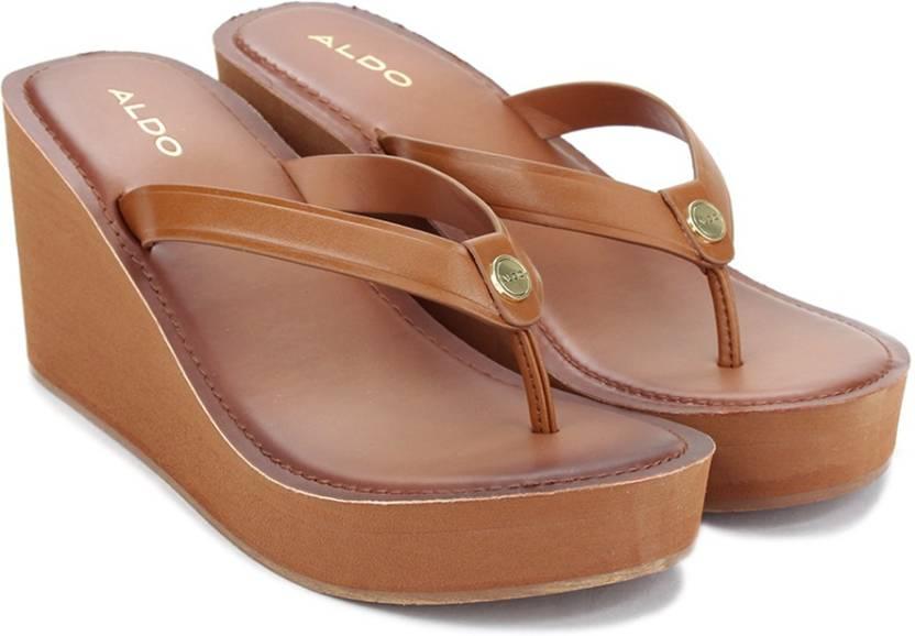 eff68deea682 ALDO Women Tan Wedges - Buy Tan Color ALDO Women Tan Wedges Online at Best  Price - Shop Online for Footwears in India