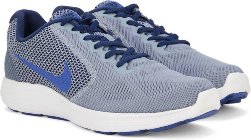 a4ebfe48486b5 Nike REVOLUTION 3 Running Shoes For Men - Buy COOL BLUE   HYPER ...