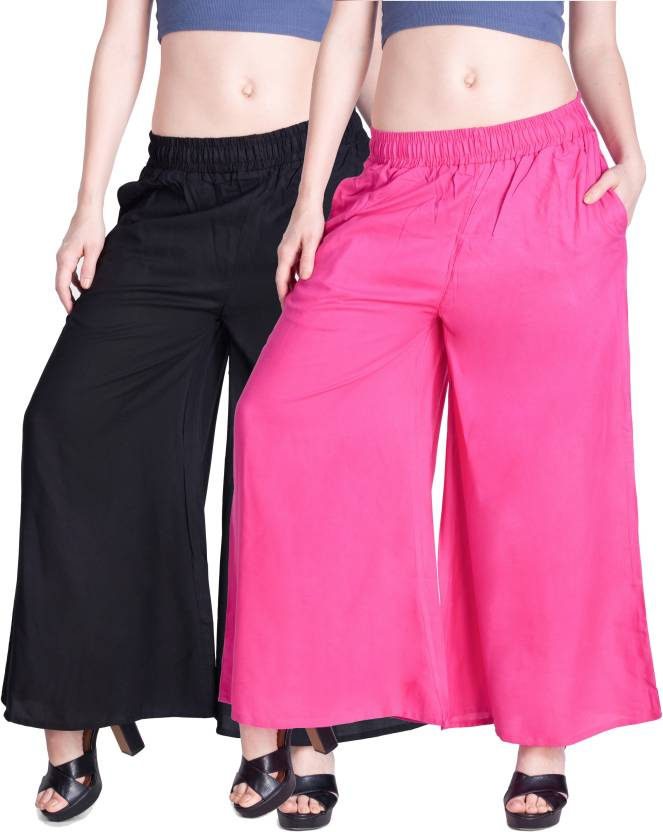 9dd31e0406974e Lux Lyra Regular Fit Women's Black, Pink Trousers - Buy Lux Lyra Regular  Fit Women's Black, Pink Trousers Online at Best Prices in India |  Flipkart.com