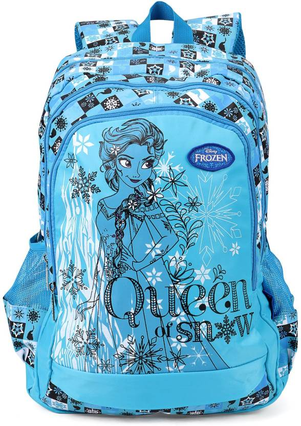 f76d78fb199 Disney Frozen Elsa   Olaf Blue School Bag 19 Inch Backpack (Blue