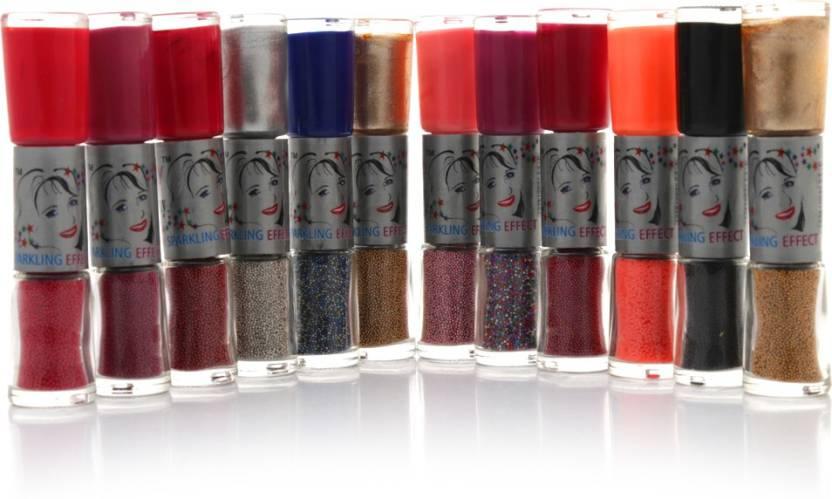 Foolzy Set of 24 Shades Twoway Nail Art Polish - Price in India, Buy ...