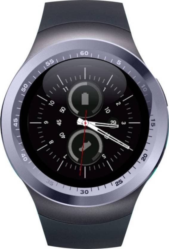 Any Time Buy Y1 BT and Fitness Tracker Smartwatch support Nano SIM Card and 32GB TF Card With Whatsapp and Facebook Smartwatch