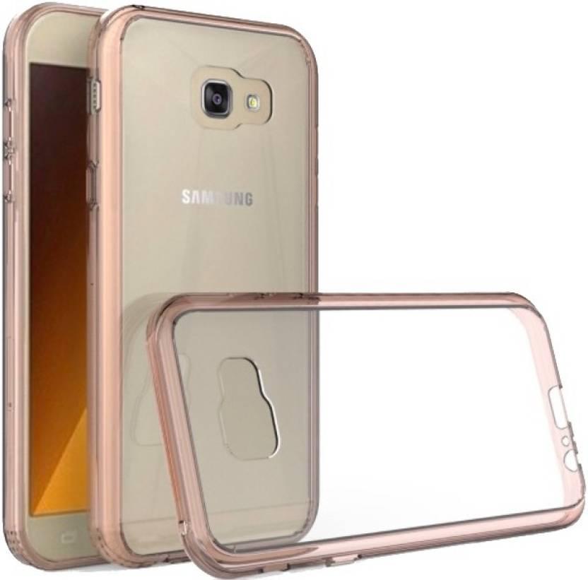 FAD-E Back Cover for Samsung Galaxy A5-2017, Samsung Galaxy A5 ( 2017 edition ) (Crystal Rose Gold, Plastic, Silicon)