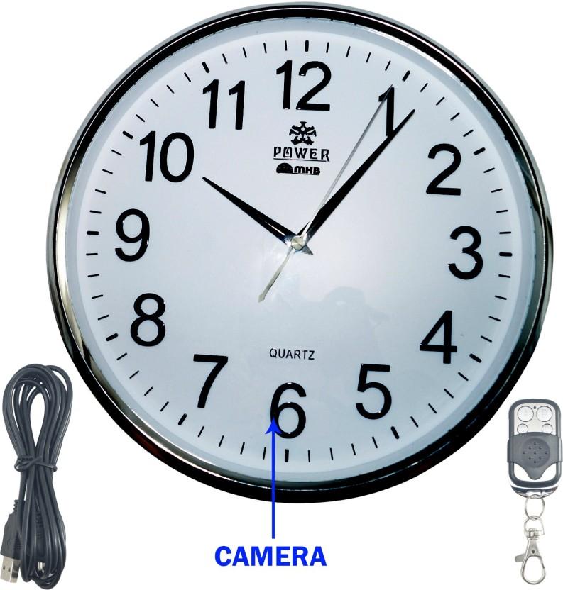 MMHB FULL HD 19201080 Quality Wall Clock Hidden Spy Camera Wireless