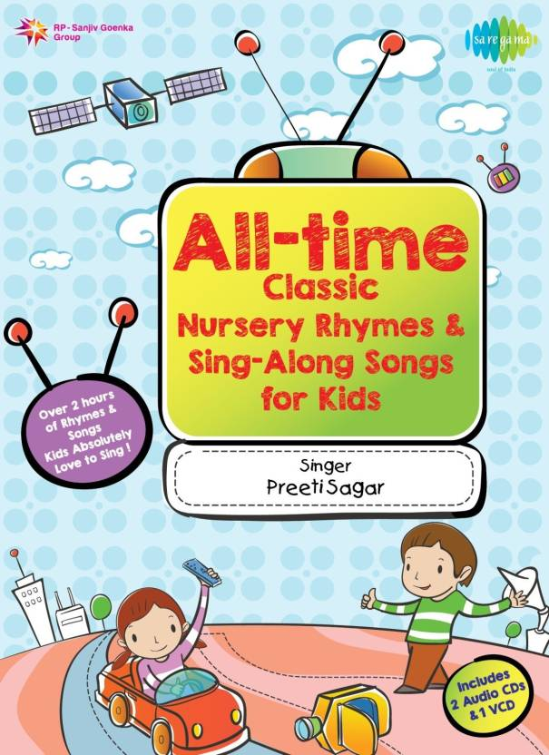 All Time Clic Nursery Rhymes Audio Cd Standard Edition