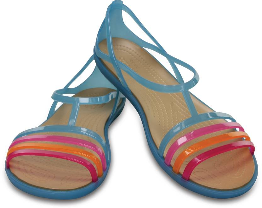 17f06804e9e Crocs Women Blue Sports Sandals - Buy 202465-4HA Color Crocs Women Blue  Sports Sandals Online at Best Price - Shop Online for Footwears in India